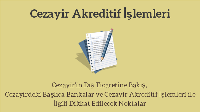cezayir akreditif